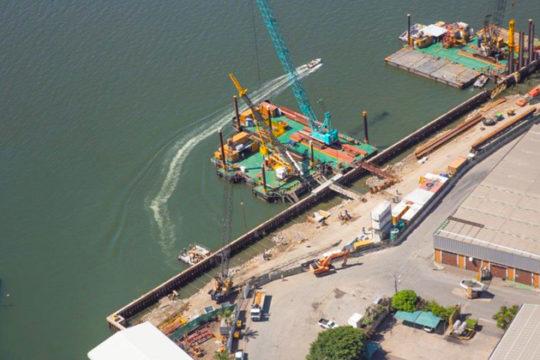 RCE Railway & Civil Engineering Projects Reconstruction of Maydon Wharf Berths 1