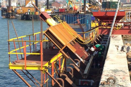 RCE Railway & Civil Engineering Projects Reconstruction of Maydon Wharf Berths 2