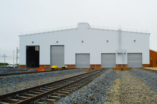 RCE Railway & Civil Engineering Projects Salkor Electrical Locomotive Workshop 1